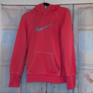 Nike hoodie thermafit sweatshirt size large